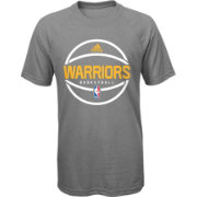 adidas Youth Golden State Warriors climalite Grey T-Shirt