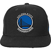 adidas Youth Golden State Warriors Black Chainlink Adjustable Snapback Hat