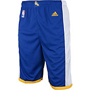 adidas Youth Golden State Warriors Road Royal Replica Shorts
