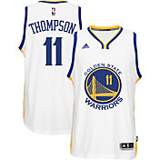 adidas Youth Golden State Warriors Klay Thompson #11 Home White Swingman Jersey