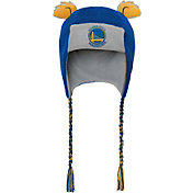 adidas Boys' Golden State Warriors Trooper Knit Hat