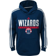 adidas Youth Washington Wizards Performance Navy Pullover Hoodie