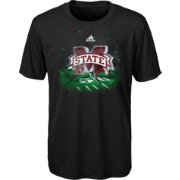adidas Youth Mississippi State Bulldogs High Impact Black T-Shirt