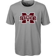Gen2 Youth Mississippi State Bulldogs Grey Performance T-Shirt
