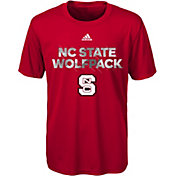 adidas Youth NC State Wolfpack Red In Motion T-Shirt