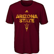 adidas Youth Arizona State Sun Devils Maroon In Motion T-Shirt