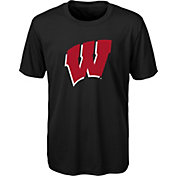 Gen2 Youth Wisconsin Badgers Performance Black T-Shirt