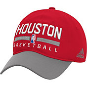 adidas Youth Houston Rockets Practice Performance Adjustable Hat