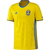 adidas Youth Sweden Replica Home Jersey