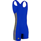 adidas Youth 3-Stripe Wrestling Singlet