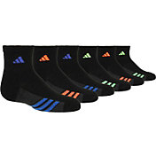 adidas Kids' Quarter Crew Socks 6 Pack