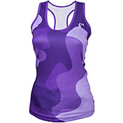 athletic DNA Girls' Refresh Sport Bubble Camo Tennis Tank
