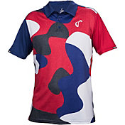 athletic DNA Men's Match Tennis Polo