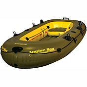 Airhead Angler Bay 4 Person Inflatable Fishing Boat