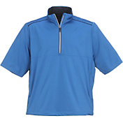 Greg Norman Men's Quarter-Zip Weatherknit Golf Top