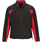 Greg Norman Men's Pieced Weatherknit Full-Zip Golf Jacket