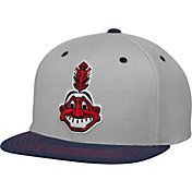 American Needle Men's Cleveland Indians Navy Adjustable Hat
