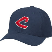 American Needle Men's Cleveland Indians Navy Cooperstown Tradition Hat