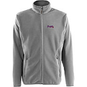 Antigua Men's Atlanta Braves Full-Zip Silver Ice Jacket