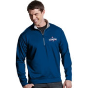 Antigua Men's 2016 World Series Champions Chicago Cubs Royal Leader Pullover