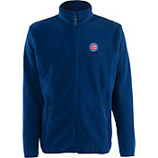 Antigua Men's Chicago Cubs Full-Zip Royal Ice Jacket