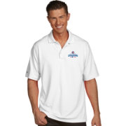 Antigua Men's 2016 World Series Champions Chicago Cubs White Pique Performance Polo