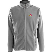 Antigua Men's St. Louis Cardinals Full-Zip Silver Ice Jacket