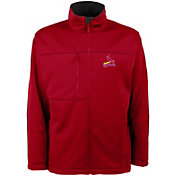 Antigua Men's St. Louis Cardinals Red Traverse Fleece Jacket