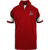 Antigua Men's St. Louis Cardinals Century Red/White Polo