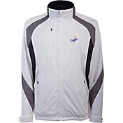 Antigua Men's Los Angeles Dodgers Tempest White Full-Zip Jacket