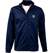 Antigua Men's Seattle Mariners Full-Zip Navy Golf Jacket
