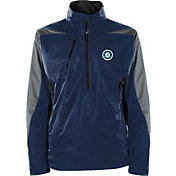 Antigua Men's Seattle Mariners Pullover Navy Discover Jacket