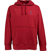 Antigua Men's Los Angeles Angels Red Signature Hoodie