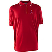 Antigua Men's Los Angeles Angels Red Elite Polo