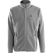 Antigua Men's Los Angeles Angels Full-Zip Silver Ice Jacket