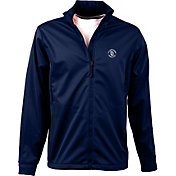 Antigua Men's San Diego Padres Full-Zip Navy Golf Jacket