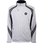 Antigua Men's San Diego Padres Tempest White Full-Zip Jacket