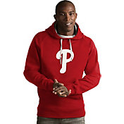 Antigua Men's Philadelphia Phillies Red Victory Pullover