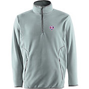 Antigua Men's Philadelphia Phillies Quarter-Zip Silver Ice Pullover