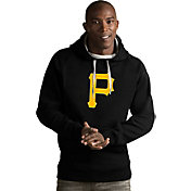 Antigua Men's Pittsburgh Pirates Black Victory Pullover