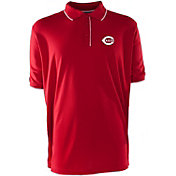 Antigua Men's Cincinnati Reds Red Elite Polo