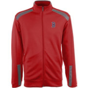Antigua Men's Boston Red Sox Flight Red Full-Zip Jacket