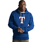 Antigua Men's Texas Rangers Royal Victory Pullover