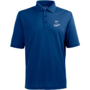 Antigua Men's Kansas City Royals Xtra-Lite Royal Pique Performance Polo