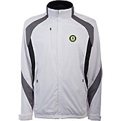 Antigua Men's Oakland Athletics Tempest White Full-Zip Jacket