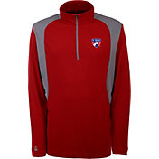 Antigua Men's FC Dallas Delta Red Quarter-Zip Pullover