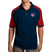 Antigua Men's FC Dallas Navy Century Polo