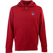 Antigua Men's FC Dallas Signature Heathered Full-Zip Hoodie
