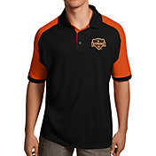 Antigua Men's Houston Dynamos Black Century Polo