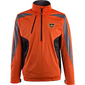 Antigua Men's Houston Dynamo Orange Discover Full-Zip Jacket